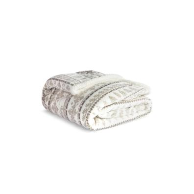 Fairisle XL Sherpa Throw
